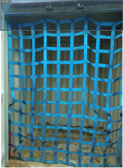 Flat Web Container net,Flat Webbing Container net,Flat Strap Cargo Net