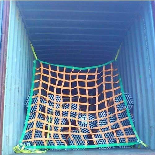 Cargo fall protection net,Webbing Container Cargo Net