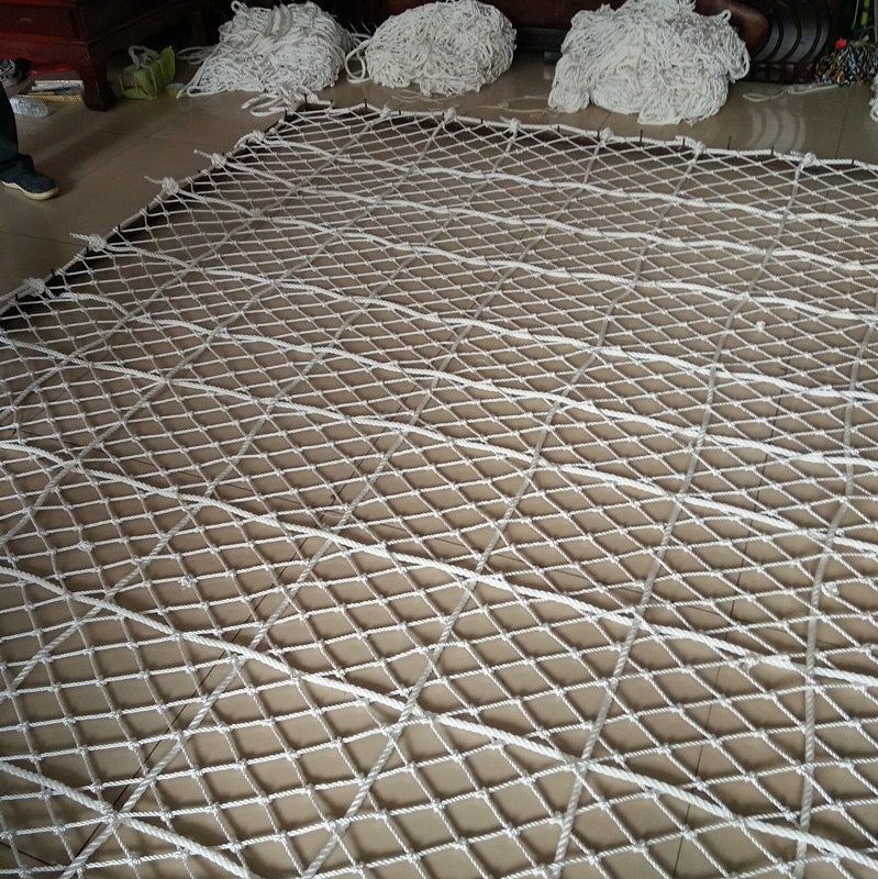Flame retardant rope net,Fire Retardant safety rope net